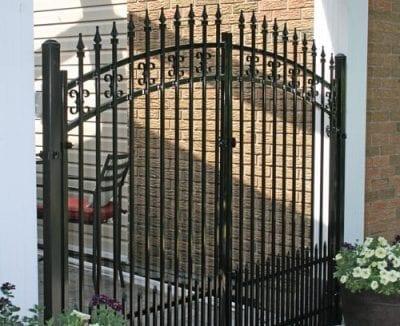 Iron garden gate Ottawa