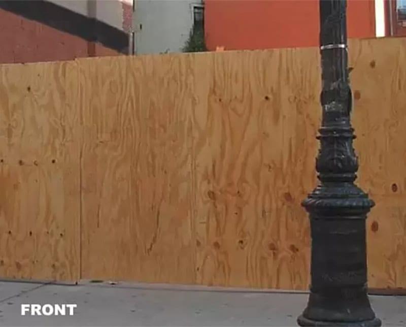 Wood Hoarding