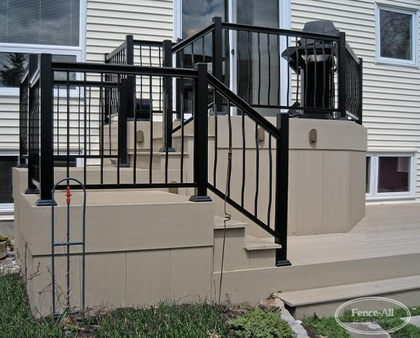 Pictures Of Sundecks Stairs And Benches: Cellular PVC Deck