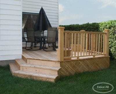 Cedar Sun Deck