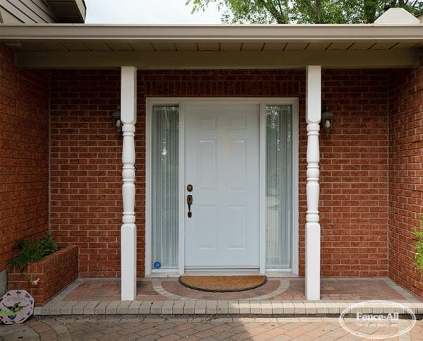 colonial vinyl porch post