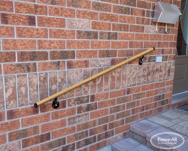 wood hand rail