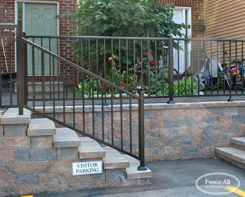 grand aluminum railing