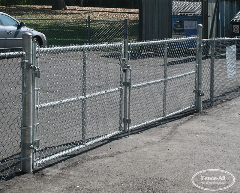 Industrial Double Swing Gates